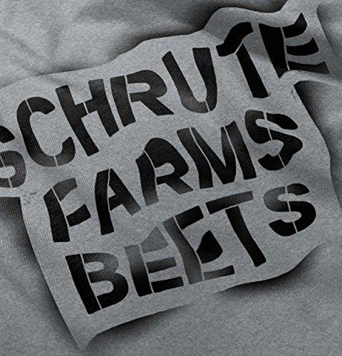9a9ad2623 Brisco Brands Schrute Farms Beets Battlestar Galactica Hoodie ...