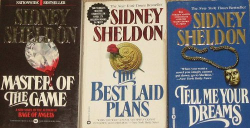 3 Novels By Sidney Sheldon: Master of the Game / The Best Laid Plans / Tell Me Your Dreams