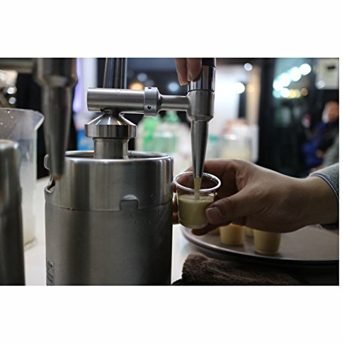 NITRO TAP Nitro Coffee Maker Cold brew Coffee Kegerator Simple Compact Kit DIY Home & Cafe