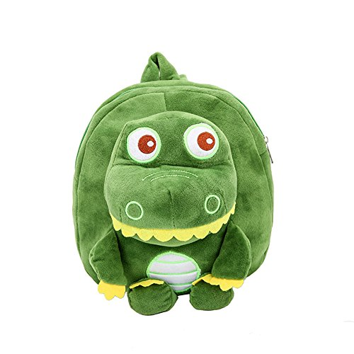 EIXJA Dinosaur Backpack for Toddler Cute Plush Animal Bookbag Perfect Dinosaur Gift for Kids Dinosaur Toys Bags for 1-6 Years Boys and ()