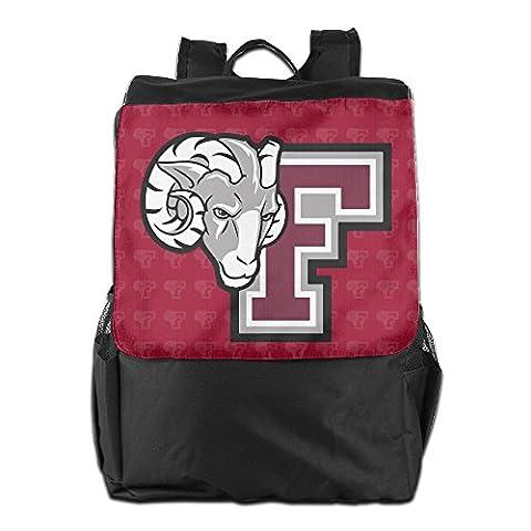 Fordham Rams Logo Shoulder Bag Backpack (Hippie Acc)