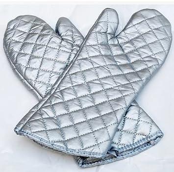 wjl-backofen handschuhe, küche backofen handschuh hitze grillen ... - Hitzeschutzhandschuhe Küche