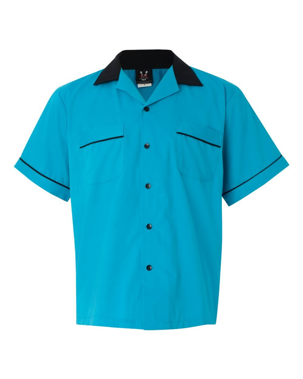Hilton Bowling Retro GM Legend, Turquoise/Black, Large by Hilton