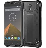 Blackview BV5000 5.0 Inch Android 5.1 Lollipop Waterproof / Shockproof / Dustproof Unlocked Smartphone MTK6735P Quad Core 1.0GHz 2GB RAM 16GB ROM GSM & WCDMA & FDD-LTE Cell Phone (Black)