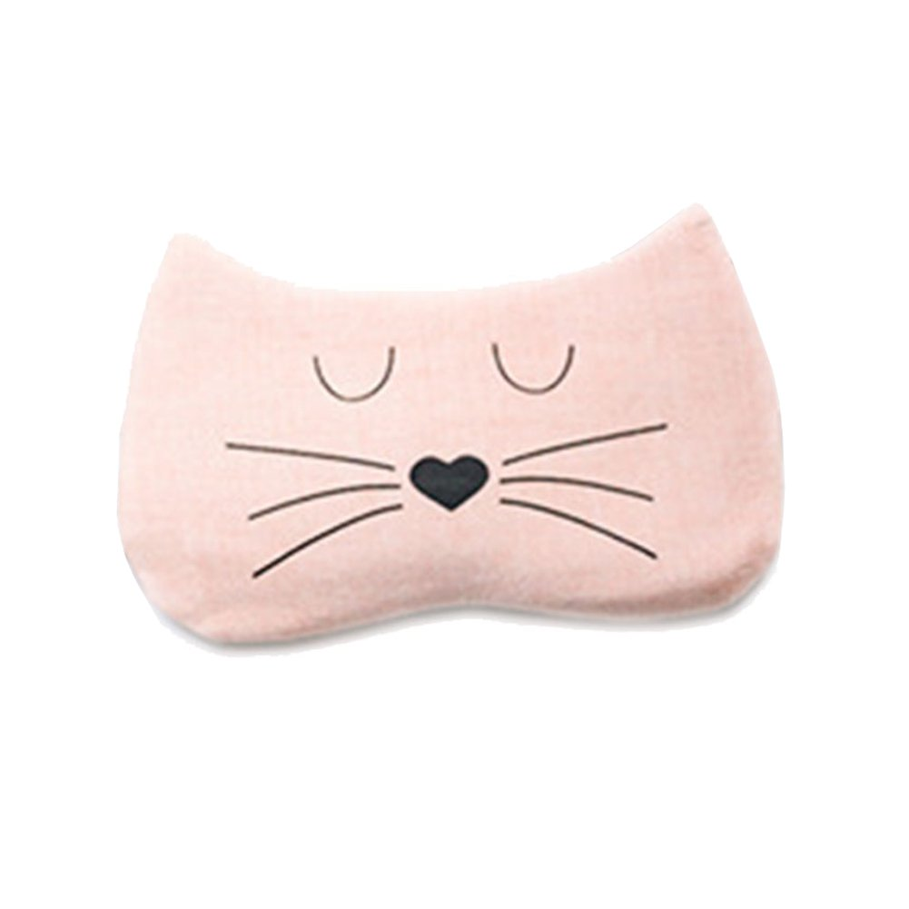 Youkara Cute Cat Shape Eye Mask Eyeshade with Ice Bag for Women Ladies Teens