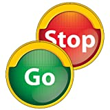 stop sign for kids - Red Light/Green Light Two-Sided Decoration