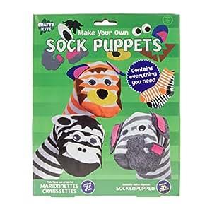 Haz tu propia marioneta del calcetín (UK Import) Haga su propia marioneta del calcetín