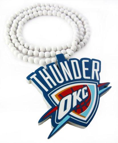 Wooden Oklahoma Thunder Pendant Piece 36