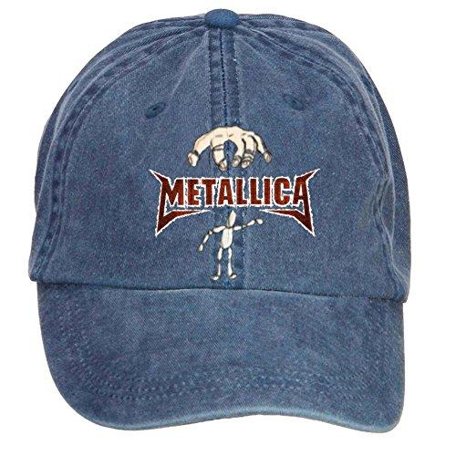 Tommery Unisex Metallica Wallpaper Hip Hop Baseball Caps