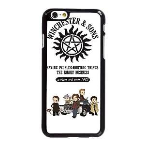 Supernatural Winchester & Sons P3V94Z1XH funda iPhone 6 6S 4,7 pufunda LGadas caso funda 841P4B negro