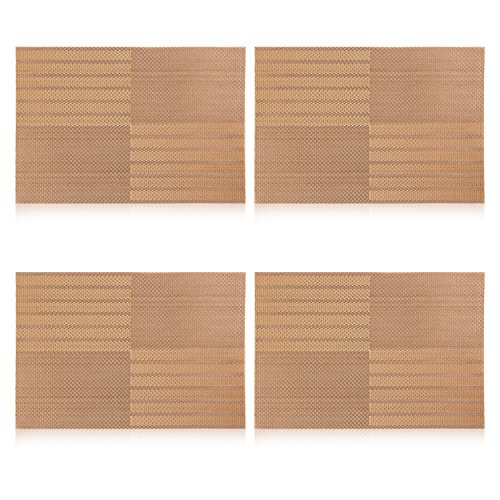 Topotdor Insulation Heat resistant Stain resistant Placemat