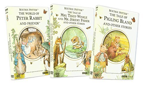 Beatrix Potter (World of Peter Rabbit and Friends / Tale of Mrs. Tiggy-Winkle & Mr. Jeremy Fisher & Other Stories / Tale of Pigling Bland and Other Stories)