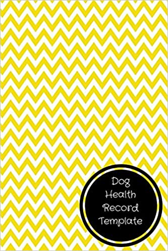 dog health record template pet log book journals for all