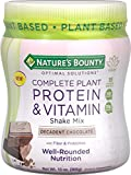 Best Protein Vitamins - Nature's Bounty Optimal Solutions Complete Plant Protein Review