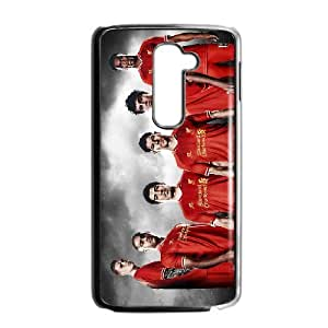 Liverpool theme pattern design For LG G2 Phone Case
