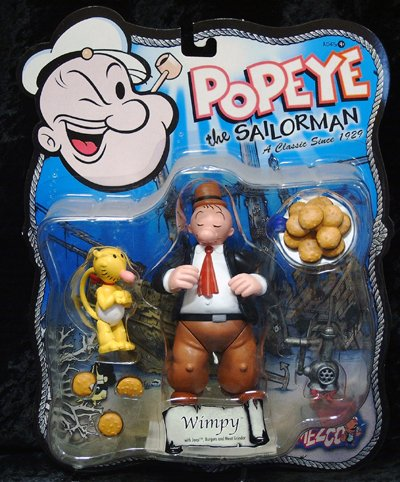 Popeye the Sailorman WIMPY action Figure