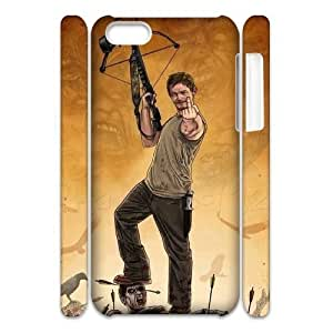 Cool Painting The Walking Dead Unique Design 3D Cover Case for Iphone 5C,custom cover case case323110