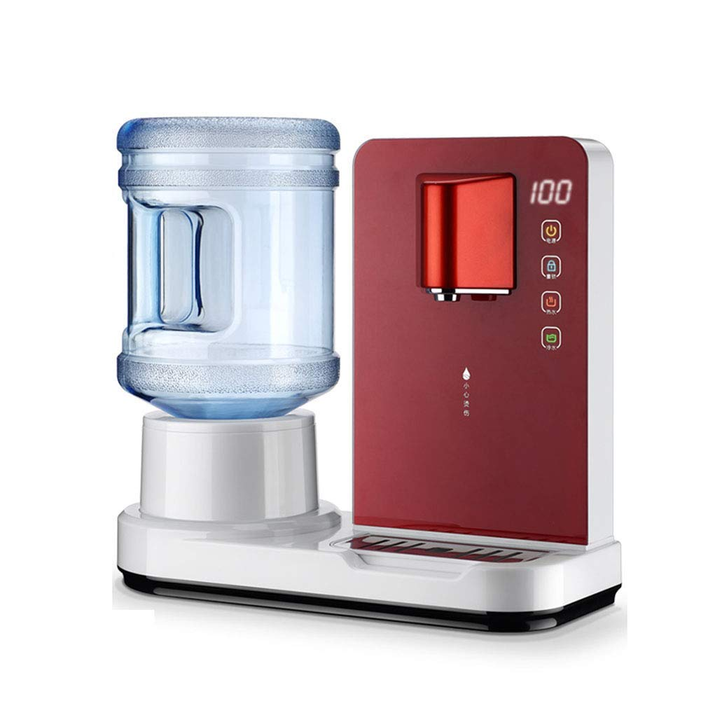 6 De Segunda Velocidad Caliente Mini Dispensador De Agua De Escritorio, Caliente/Frío Superior De Carga De Agua Encimera Refrigerador Dispensador Con ...
