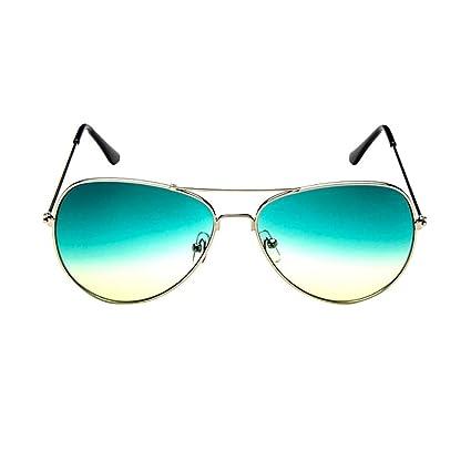 Yesmile Gafas de sol☀️Paraguas Para Mujer de La Moda Retro Aviator Mirrorred Lens Polarized