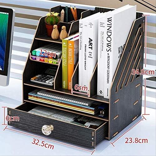 Büro Aufbewahrungsbox Desktop Kleinigkeiten Lagerung A4 Schublade Bücherregal Lagerregal Büromaterial