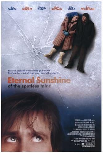 Eternal Sunshine Of The Spotless Mind Poster 27x40 Jim Carrey Kate Winslet Kirsten Dunst Prints Posters Prints