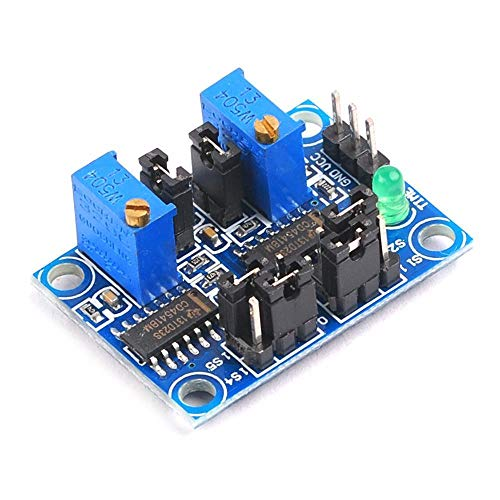- 1PCS Cycle Timing Square Wave Signal Generator Module Delay Pulse Frequency Adjustable Function is Powerful