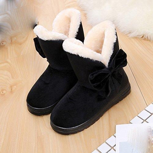 Hiver de Chaud Neige Covermason Femme Bottes pour Chaussures B de Enfant Filles Bottes Fille Neige qPwdxvaa