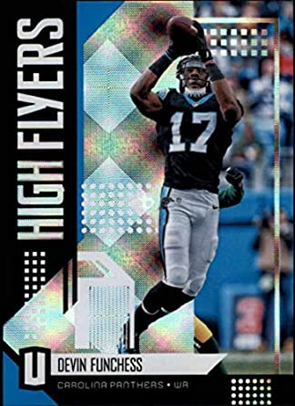 2018 Unparalleled Football High Flyers  10 Devin Funchess Carolina Panthers  Official NFL Trading Card made e51f5577b