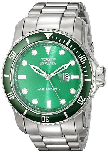 Invicta Men's 20096 Pro Diver Analog Display Japan Silver-Tone Watch