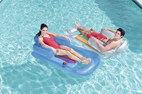 Bestway 43028 - Asiento de piscina, surtido: Amazon.es: Juguetes y juegos