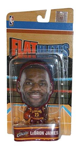 NBA Cleveland Cavaliers Lebron James Unisex James L. #23 Flathlete Figurine, One Size