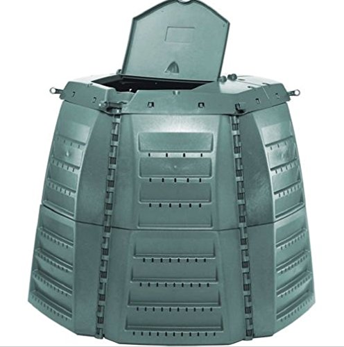 Hermes2shop Thermo Star 1000 Composter, 267 Gallons, 45cm Thick Polypropelene Copolymer Wall