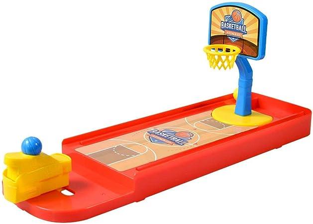 Bangxiu-game Mini Juego de Baloncesto Mini Juego de Mesa de Baloncesto para niños Juego de Mesa Interactivo Regalos de Cumpleaños y Fiestas Mucha Diversión (Color : Rojo, tamaño : 13.4*3.9*5.5): Amazon.es: Hogar