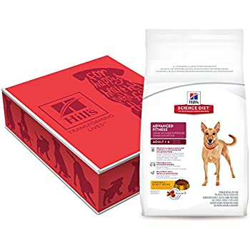 Hill's Science Diet Adult Advanced Fitness Chicken & Barley Recipe Dry Dog Food, 38.5-Pound Bag