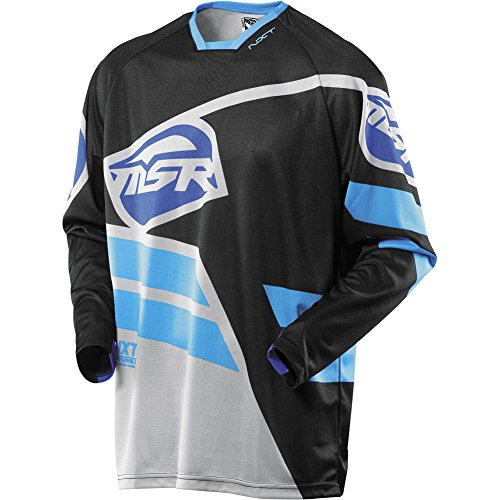 - MSR Racing NXT Mission Men's Off-Road Motorcycle Jersey - Black/Gray / Medium