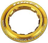 トーケン TK042S アルミロックリング シマノ12Tカセット用 ゴールド(523CSXA042C)