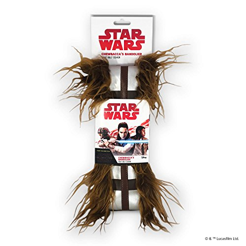 FanWraps Star Wars Chewbacca Bandolier Seat Belt Covers, Brown ()