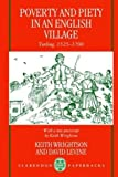 img - for Poverty and Piety in an English Village: Terling, 1525-1700 (Clarendon Paperbacks) by Wrightson, Keith, Levine, David (1997) Paperback book / textbook / text book
