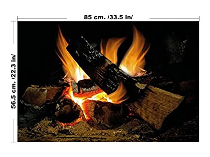 Nice Wall Stiker Fire For Large Fireplace Fireplace Wall Sticker Fireplace Decal  Wall Art Decals