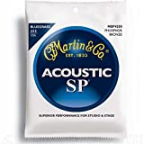Martin MSP4250 Bluegrass SP Phosphor Bronze Acoustic Guitar Strings, Medium