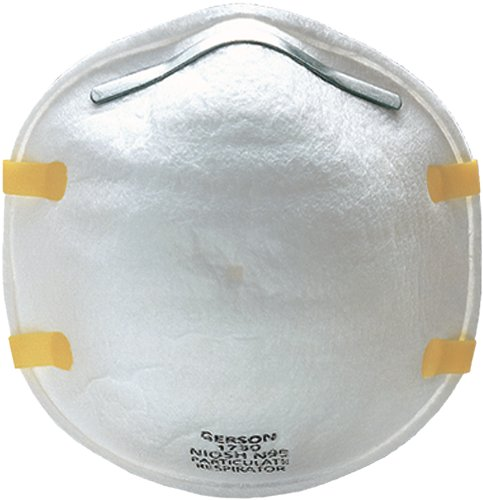 Gerson 081730 N95 Cup-Style Particulate Respirator (12 Boxes of 20)