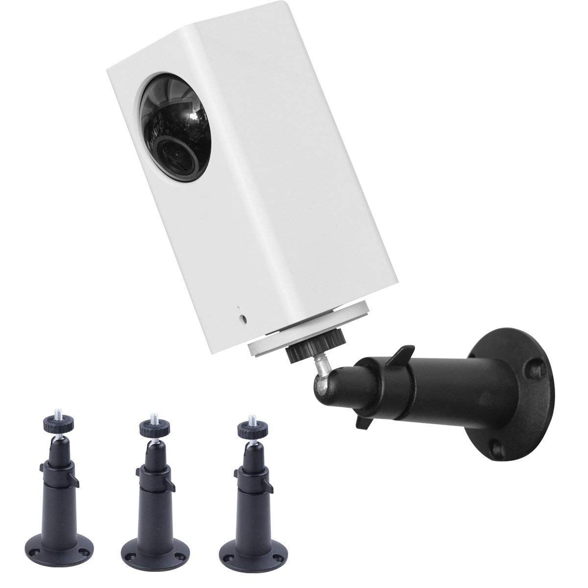 (Pack of 3) Aboom Wall Mount for Wyze Cam Pan and Arlo pro,360 Degree Swivel Ceiling Mount Bracket