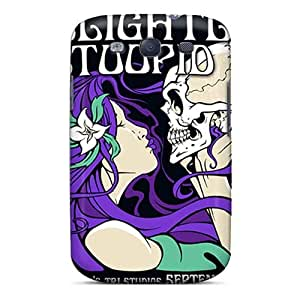 KerryParsons Samsung Galaxy S3 Scratch Protection Mobile Cases Custom High Resolution Grateful Dead Pattern [IKi12890zAaM]