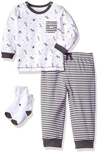 Little Me Baby Boys' Shirt and Jogger Set, Safari, 9 Months (Jogger Safari)