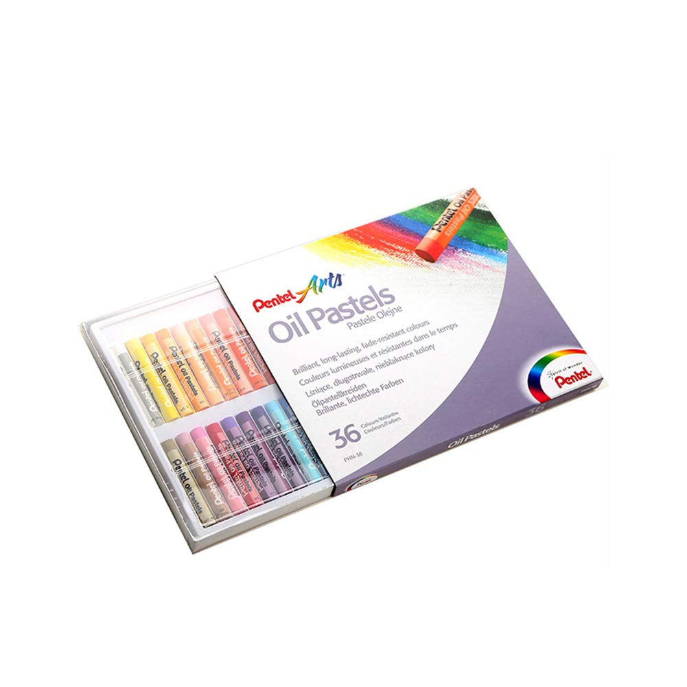 Oil Paint Crayons 36 Colors, Apply Smoothly, Colored Pastels, Extra Fine Quality, Toxic Free and Safe, Easy to Compose Portraits, Landscapes, Still-Life by Lunuolao