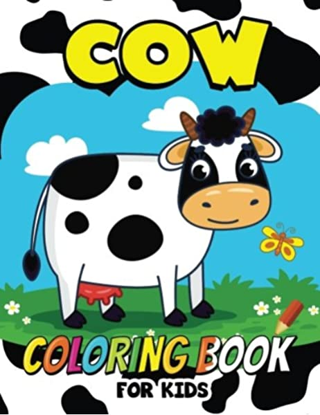 - Cow Coloring Book For Kids: Animal Coloring For Boy, Girls, Kids: Balloon  Publishing, Coloring Book For Kids: 9781981269655: Amazon.com: Books