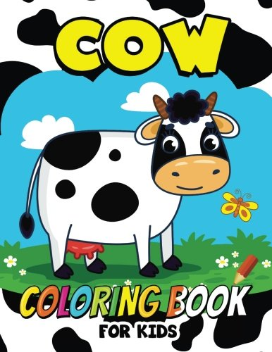 Cow Coloring Book Kids Animal product image