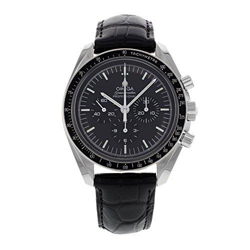 Reloj de pulsera Omega lunar.