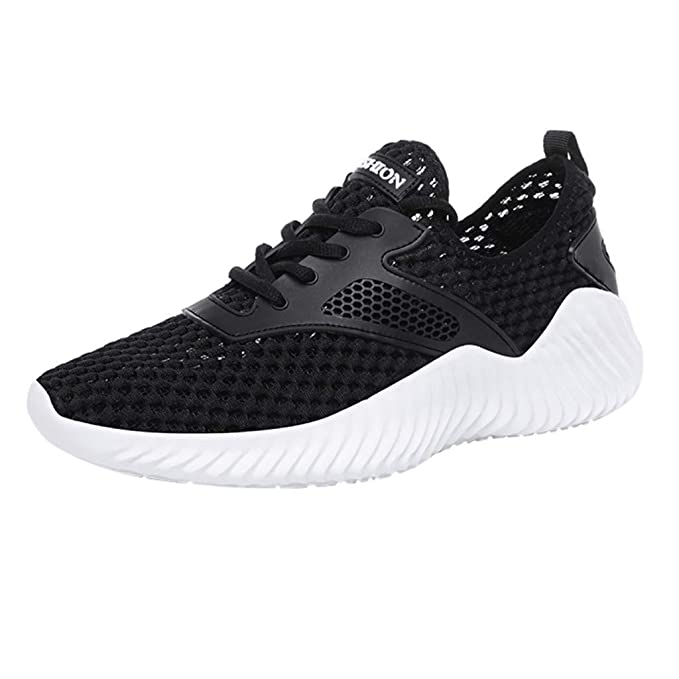 6e782fbbb3b9b Amazon.com: Vibola Men's Running Shoes Hollow Out Breathable ...