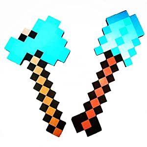 Toy, Fun, Game, 2017 Minecraft Toys Minecraft Foam Diamond Sword Pickaxe Axe Gun TNT EVA Model Toys Gift Toys For Kids Birthday Christmas Gifts, Children, Kids, Play